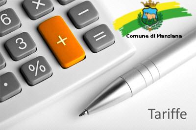 Tariffe Comune di Manziana